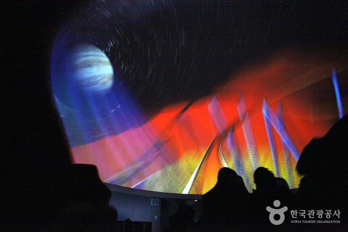 4D돔영상관의 롤러코스터 영상