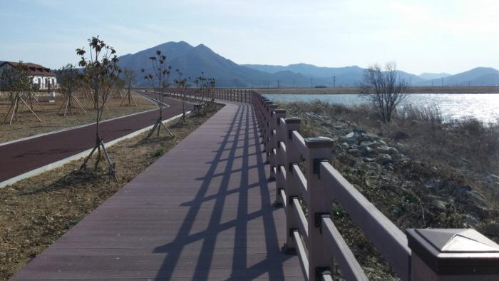 고흥 해창만 간척지 공원