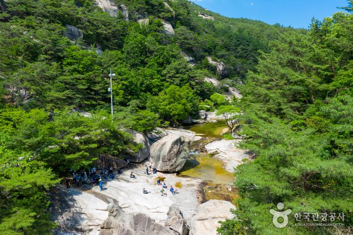 La Vallée Seonyudong (선유구곡)
