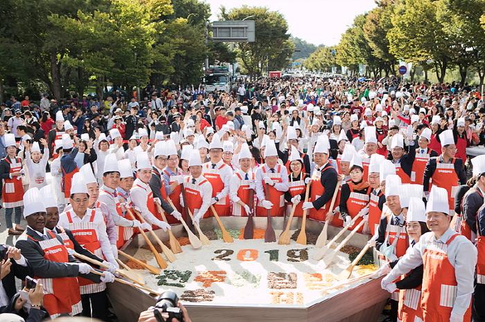 全州ビビンバ祭り(전주비빔밥축제)
