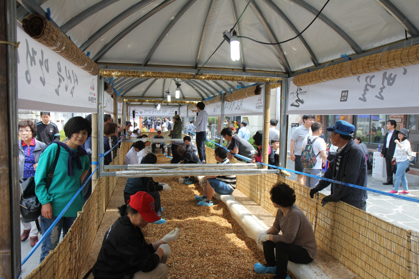 Культурный фестиваль корейских лекарственных трав Яннёнси в Тэгу (대구약령시 한방문화축제)2