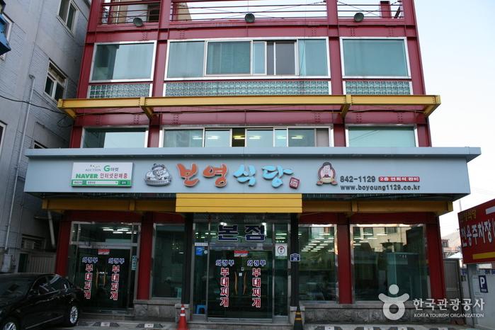ポヨン食堂(보영식당)