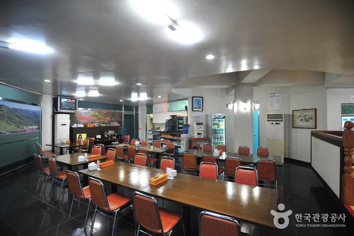연산온천파크_식당내부