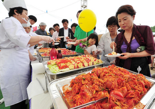 Busan Daejeo Tomato Festival (부산 대저토마토축제)