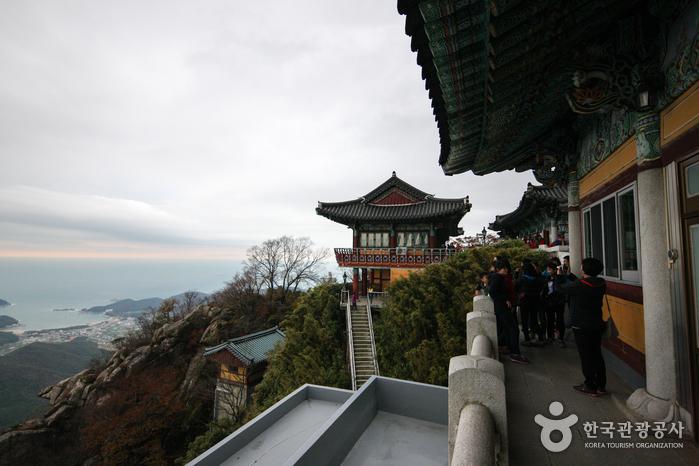 錦山菩提庵(南海)(금산 보리암(남해))