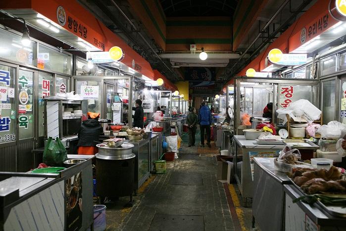 웃장 국밥골목