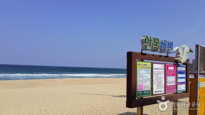 Побережье Анмок (안목해변)