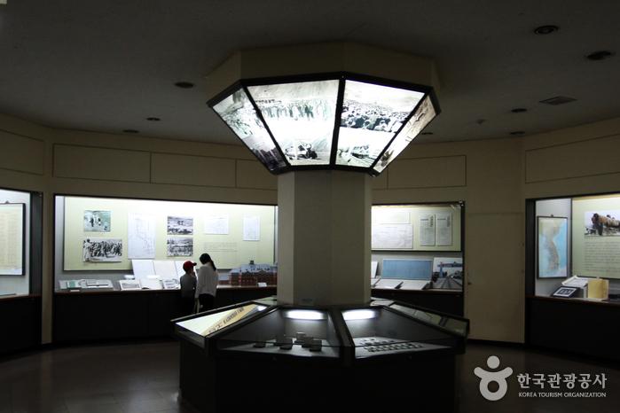 철도박물관 본관 전시실