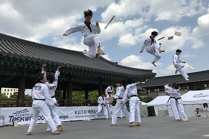 Espectáculo de Taekwondo en Namsangol (남산골 태권도 상설공연)