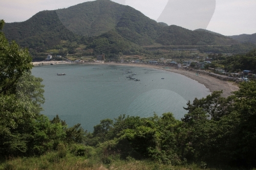 Manseong-ri Black Sand Beach ( ())