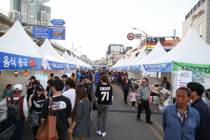 Incheon Soraepogu Festival (인천 소래포구축제)