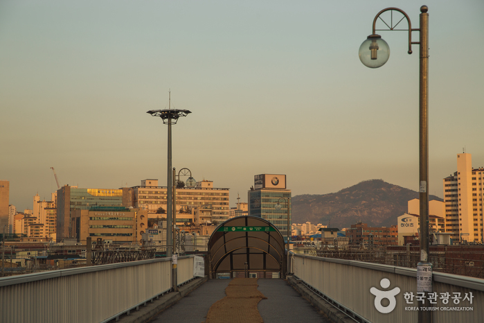Yongdap Station Pedestrian Bridge (용답역 육교)