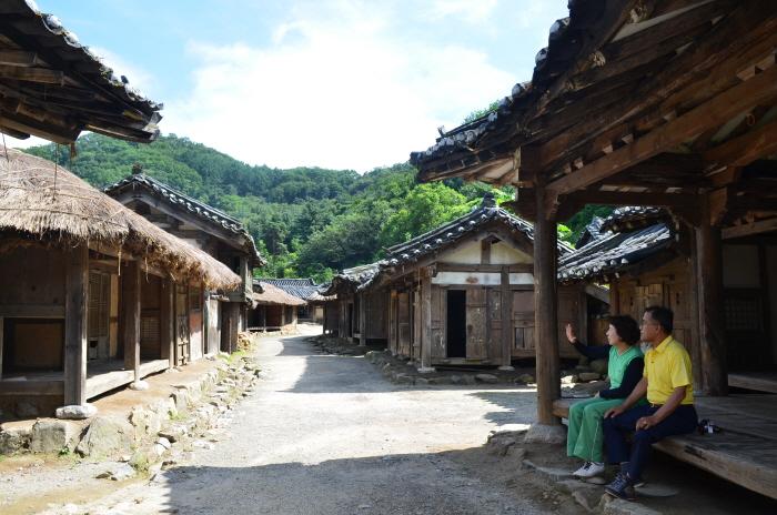 19세기 민속마을 세트