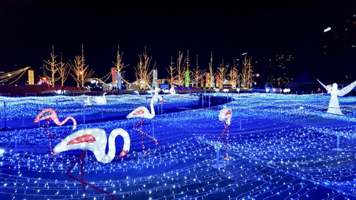 고양호수꽃빛축제 (Goyang Light Blooming Festival) 2017