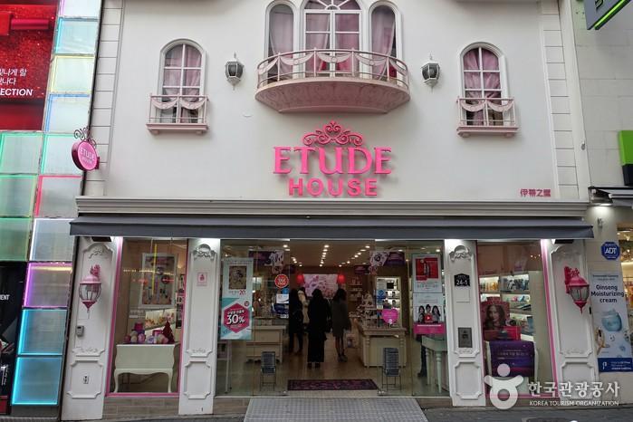 ETUDE HOUSE(明洞忠武路店)[韓国観光品質認証](에뛰드하우스 (명동충무로점) [한국관광품질인증/Korea Quality])