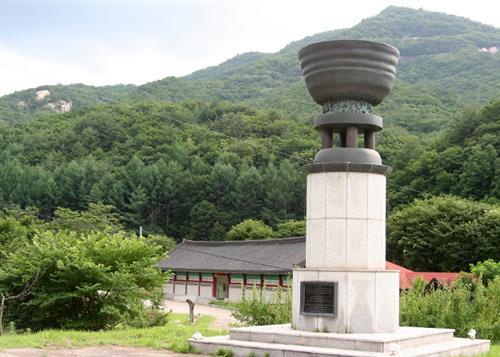 방곡도예 전시관