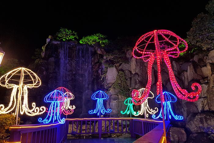Herb Island Light Festival (허브아일랜드 불빛동화축제)