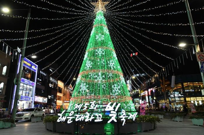 海雲台ラッコ光祭り(해운대라꼬 빛축제)