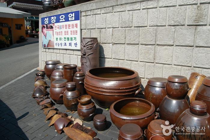 Деревня гончарных изделий на горе Вегосан (외고산옹기마을)11