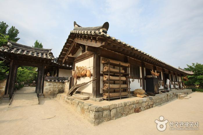 Casa del Aristócrata Choi (최참판댁)10
