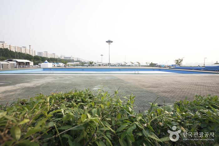 Jamwon Hangang Park Outdoor Swimming Pool (한강시민공원 잠원수영장(실외))