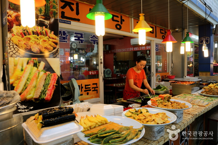 Центральный рынок в Вончжу (원주 중앙시장)