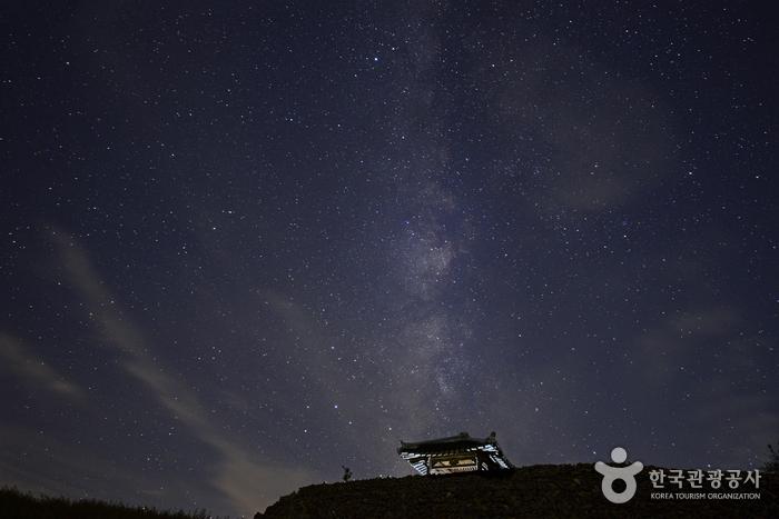 쏟아지는 별빛에 취해 옛 추억을 더듬다, 강릉 안반데기 사진