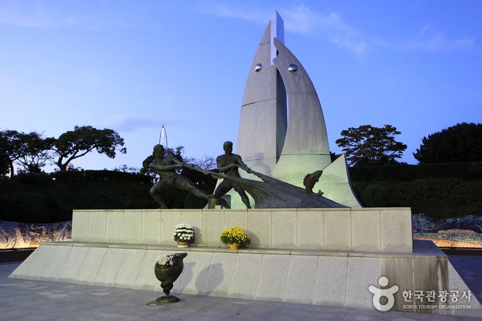 Парк Тольсан (돌산공원)7