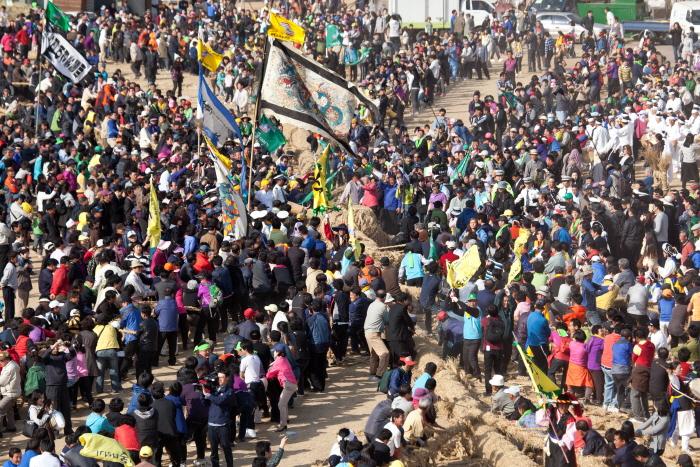機池市綱引き民俗祭り(기지시 줄다리기 민속축제)