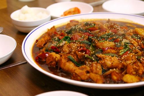 安東燉雞(안동찜닭)