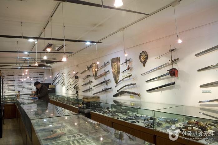 刀劍展示館(칼 갤러리)9