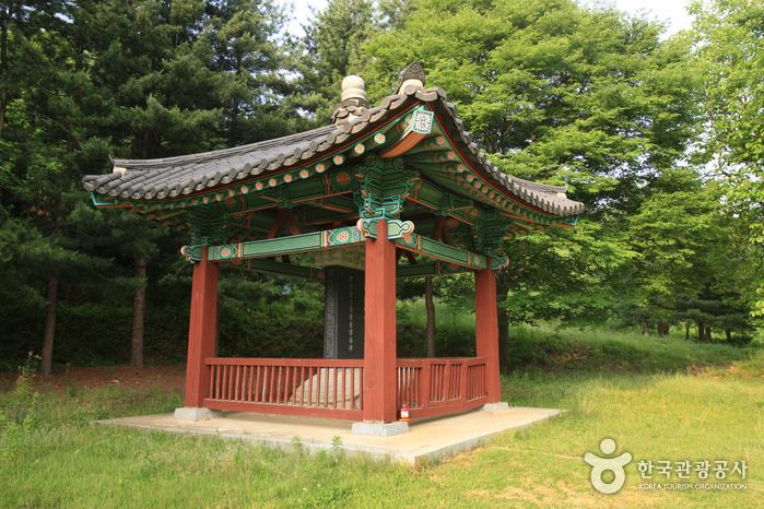 진천 김유신 탄생지와 태실