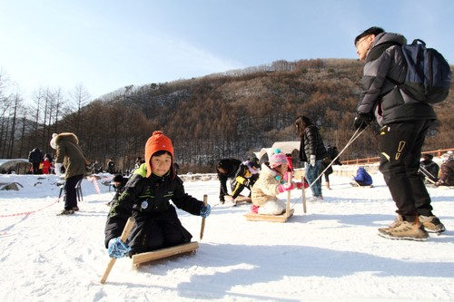 Taebaeksan Mountain Snow Festival (태백산 눈축제)