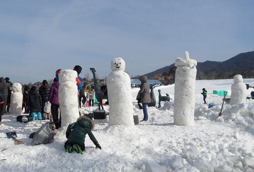 Jirisan Namwon Baraebong Snowflake Festival (지리산 남원 바래봉 눈꽃축제)