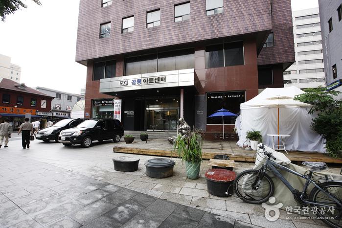 首尔艺术中心公平画廊<br>(서울아트센터 공평갤러리)