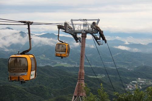 八公山ケーブルカー(팔공산 케이블카