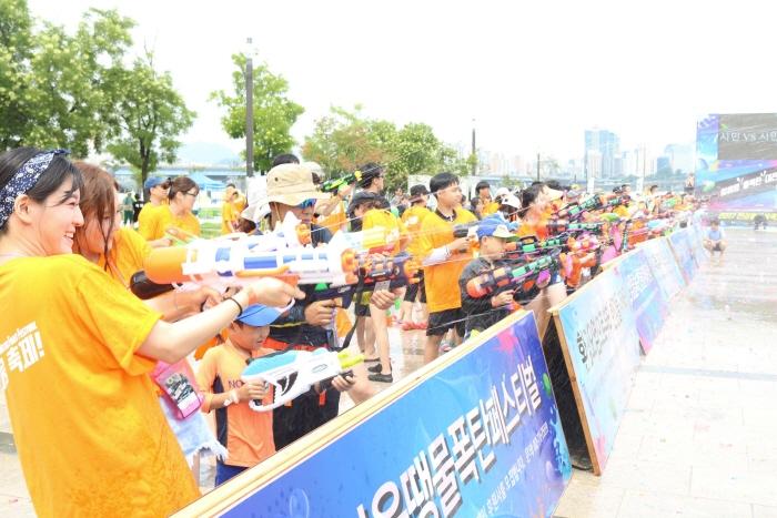 漢江ウォーターファイト祭り(한강물싸움축제)
