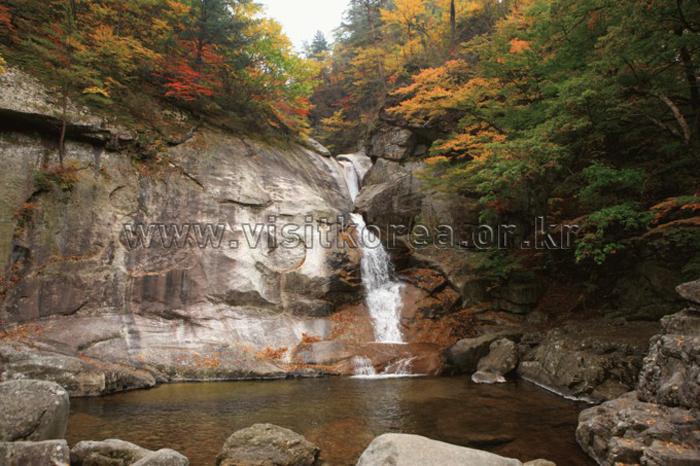Guryong Falls (Sogeumgang) (구룡폭포-소금강)