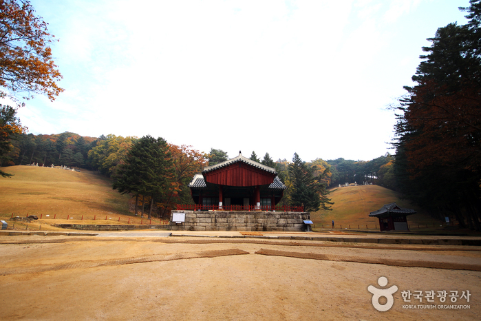 Gwangneung Royal Tomb [UNESCO World Heritage] (남양주 광릉(세조, 정희왕후) [유네스코 세계문화유산])