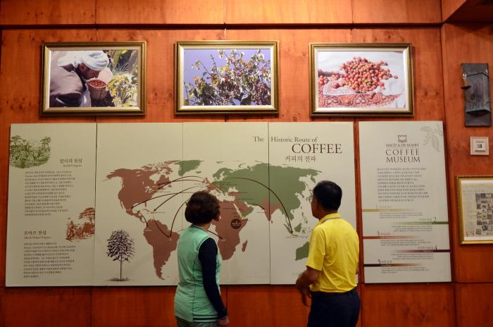 박물관 내 커피역사탐험