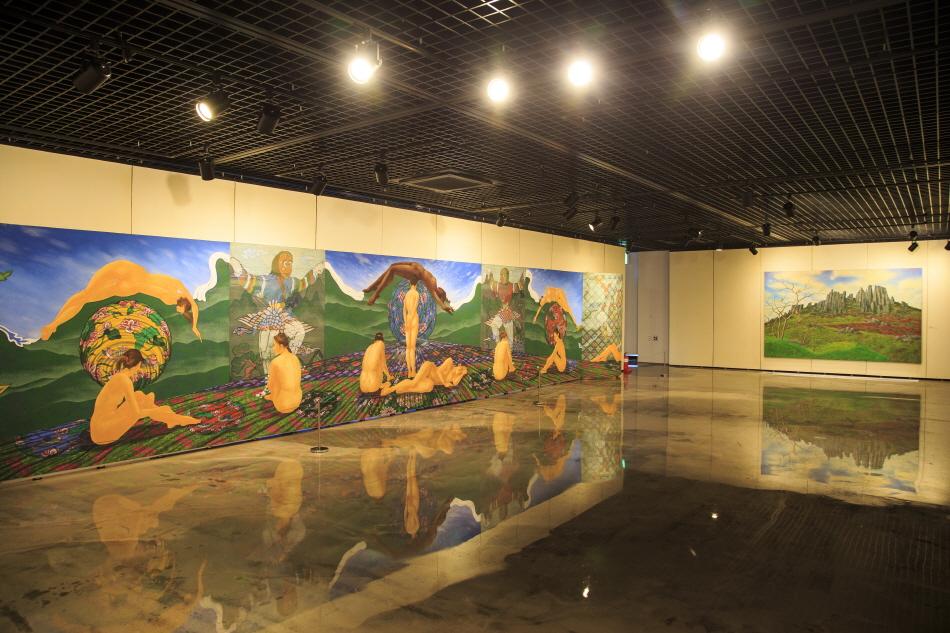 지난 2월 양림동주민센터에 문을 연 이강하미술관