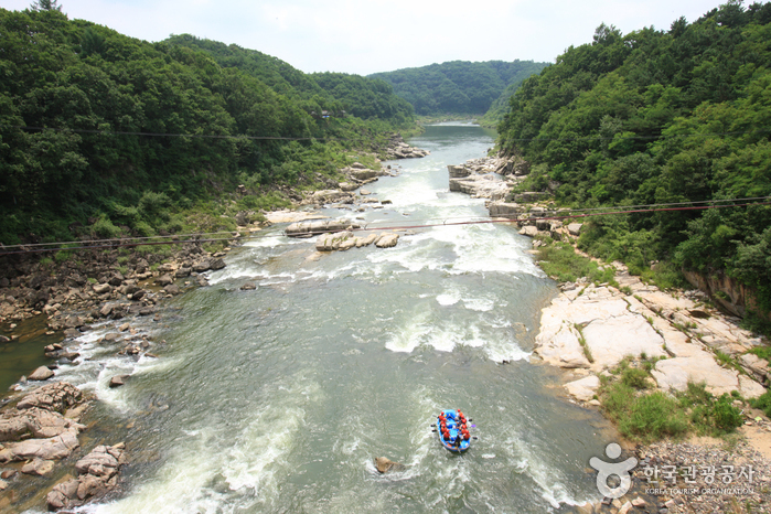 Река Хантханган (한탄강)5