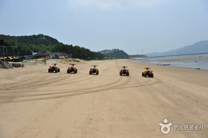龍遊島 マシアン海岸(용유도 마시안해변)