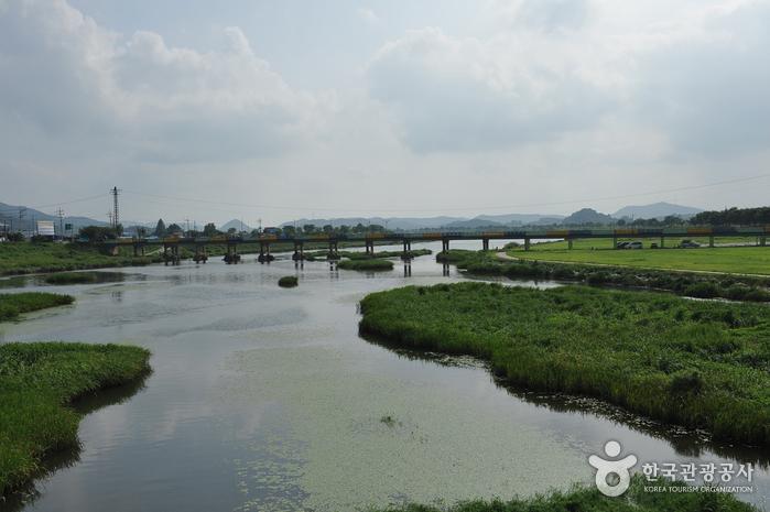 Hwangnyonggang River...