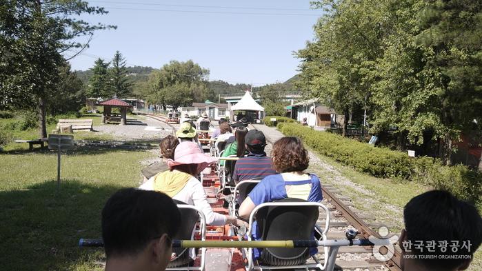 Trash: Mungyeong Rail Bike (문경 철로자전거 (레일바이크))