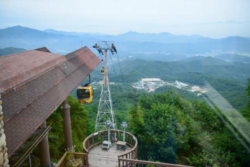Канатная дорога в горах Пхальгонсан (팔공산 케이블카)6