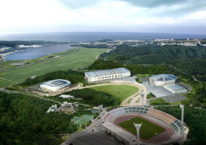 江陵オリンピックパーク(강릉올림픽파크)