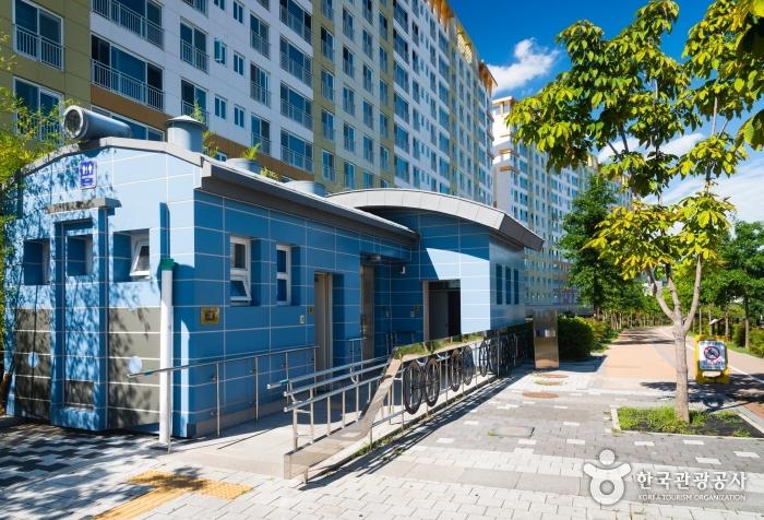 대구선 아양공원 내 장애인화장실