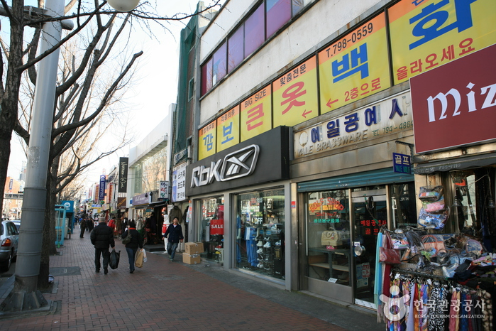 Rue du shopping d'Itaewon (이태원 쇼핑거리)