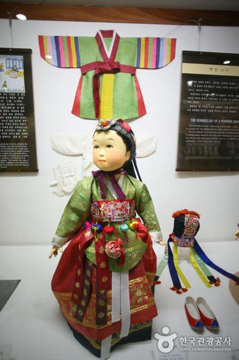 Музей традиционной корейской одежды ханбок (이리자 한복전시관)5
